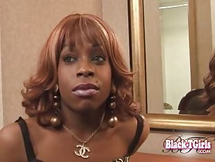 Black TGirls Interview - Tonya