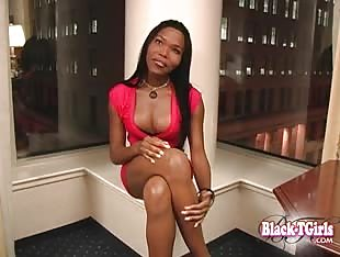 Black TGirls - Yanna second interview