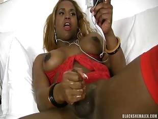 Black Shemale X Logan