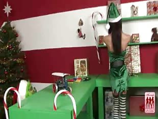 Shemale Pornstar Christmas