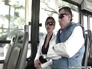 Bus Blowjob part 1