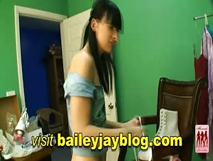 Bailey Jay New Shemale Pornstar Scene