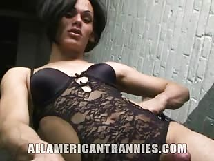 TS Latina Foxy the All American Tranny