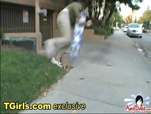 Amy Daly Skateboarding