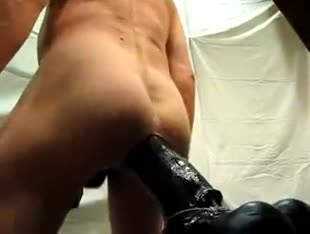 Riding my big dildo 360