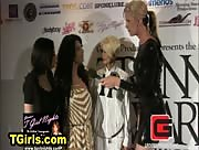 Britney Markham on the Red Carpet