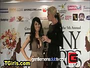 Eva Lin Red Carpet Tranny Awards