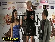 Karina Shiratori at the Tranny Awards