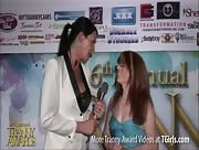 Morgan Bailey Interviewing Wendy Summers at 6th Annual Tranny Awards