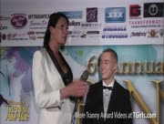 Morgan Bailey Interviewing James Darling at the 6th Annual Tranny Awards