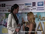 Morgan Bailey Interviewing Jessy Dubai at the 6th Annual Tranny Awards