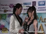 Morgan Bailey Interviewing Chelsea Marie at the 6th Annual Tranny Awards
