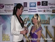 Morgan Bailey Interviewing Joanna Jet at the 6th Annual Tranny Awards