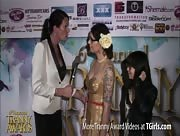 Morgan Bailey Interviewing Riley Quinn at the 6th Annual Tranny Awards