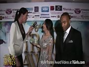 Morgan Bailey Interviewing Sunshyne Monroe at the 6th Annual Tranny Awards