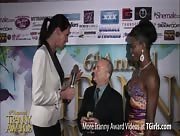 Morgan Bailey Interviewing Bob Maverick at the 6th Annual Tranny Awards