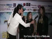 TS birdmountain, Jade Downing, Stefani Special, and Kelly Klaymour Interviewed by Morgan Bailey at 6th Annual Tranny Awards
