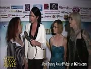 Morgan Bailey Interviewing Brittany Bendz at the 6th Annual Tranny Awards
