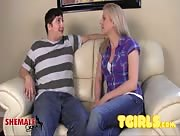 His First Time with A Tgirl - Tyra Scott