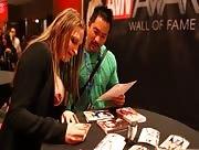 AVN awards - Interviews with Ts Foxxy & Jessy Dubai