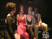 "TEA Backstage with ""AllTgirls"" cast & Directer"