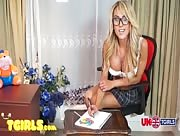 Mia Maffia Naughty UK Schoolgirl
