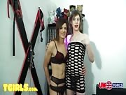 Maisie Le Fay & Laura Smith Uk-Tgirls.com Trans Action!