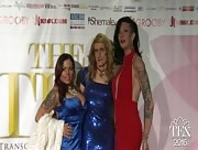 Kacy Tgirl TEA2016 Red Carpet