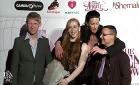 TEA RedCarpet Shiri Allwood, Nicko Wolfe, Rob Yaeger 2018