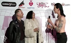 TEA RedCarpet Madeline Marlowe & Will Havoc 2018