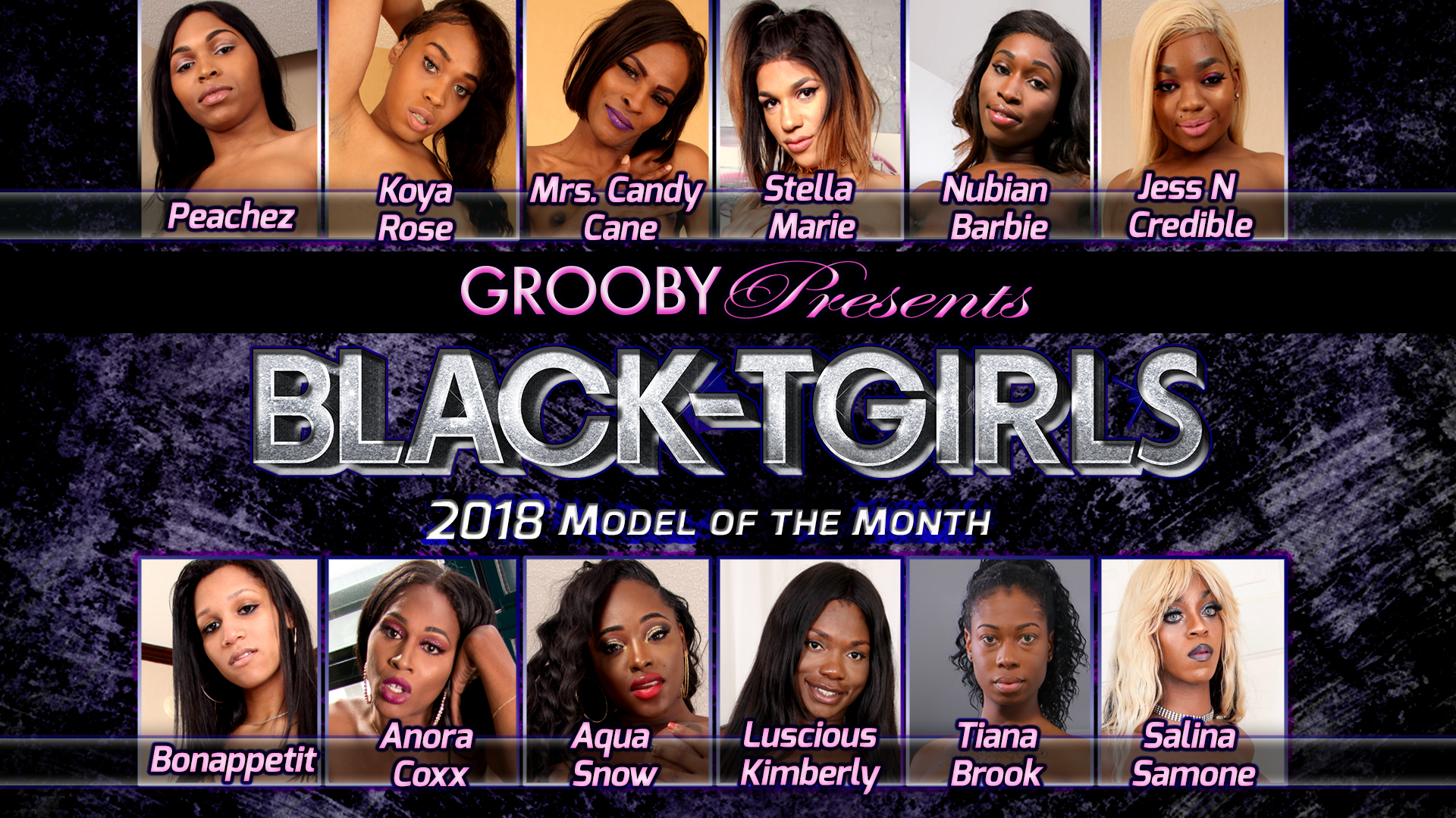 2018 Black Tgirls DVD Trailer
