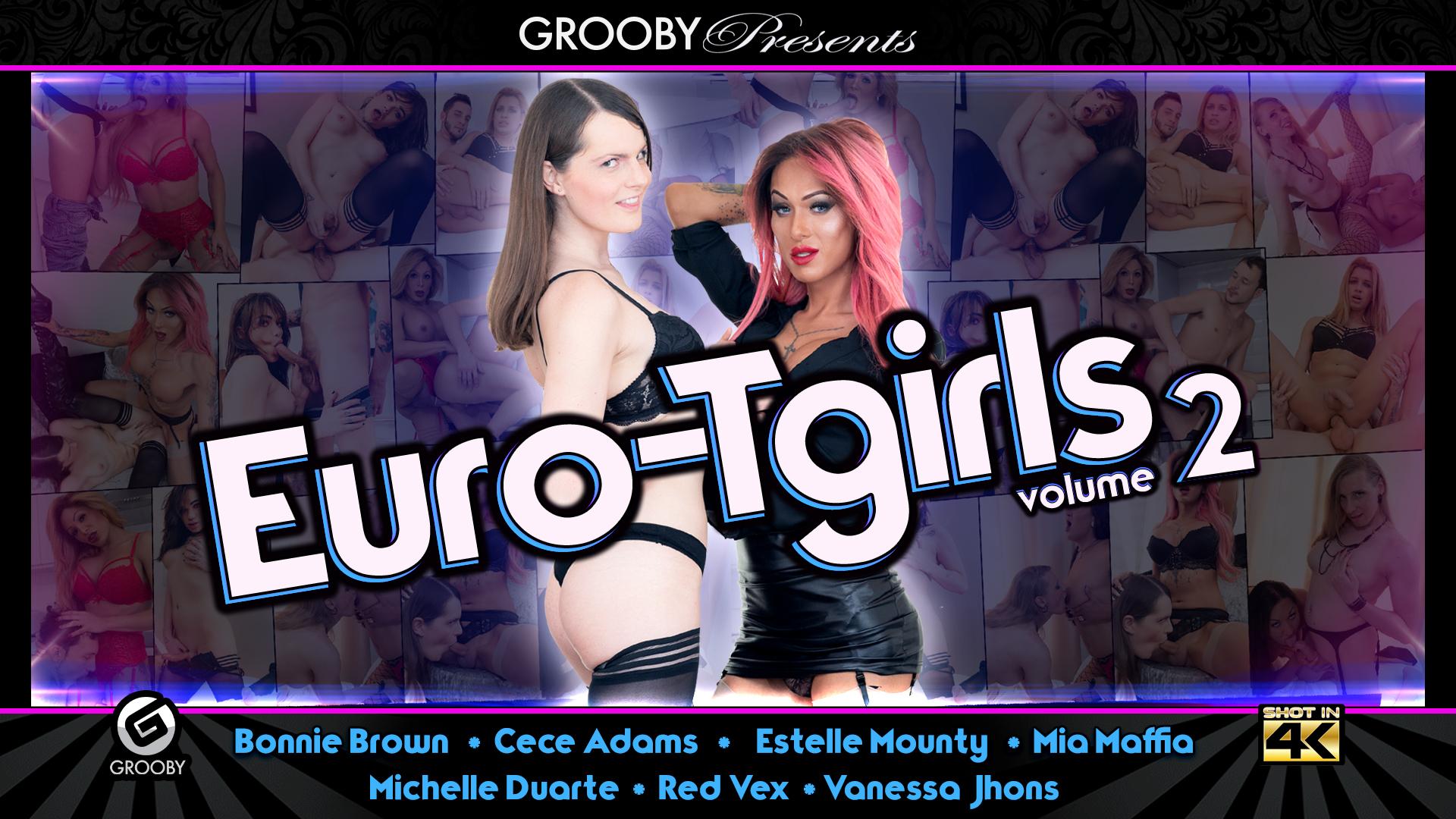 EuroTgirls volume 2 -DVD Trailer