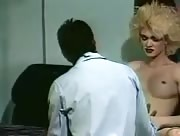 Vintage blonde gets sucked